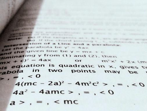 Illustratie bij aanbod Wiskunde